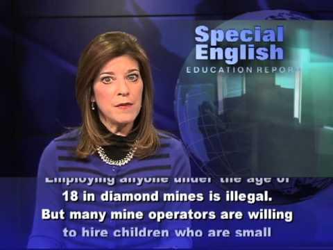 Children Mining Diamonds In Liberia