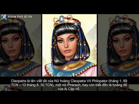 """5 """"vũ khí bí mật"""" mê hoặc đàn ông của Cleopatra"""