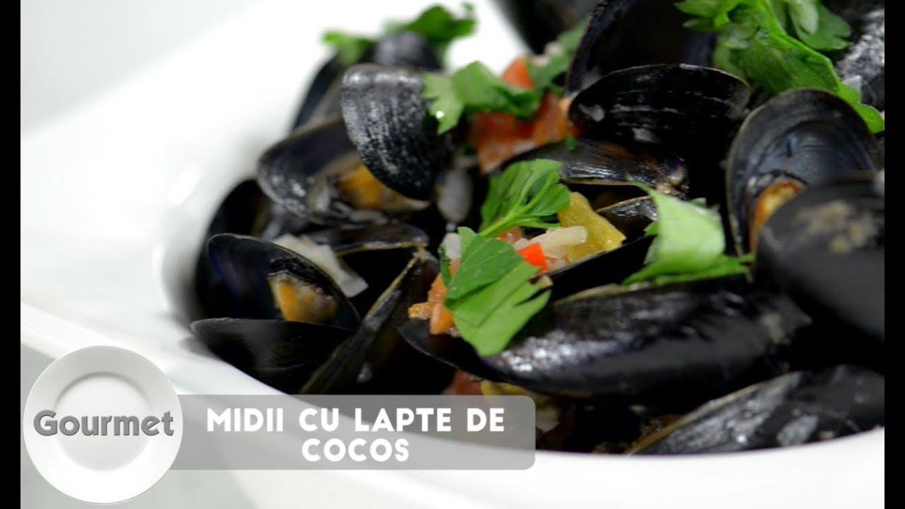 Reteta - Midii cu Lapte de Cocos | Bucataras TV