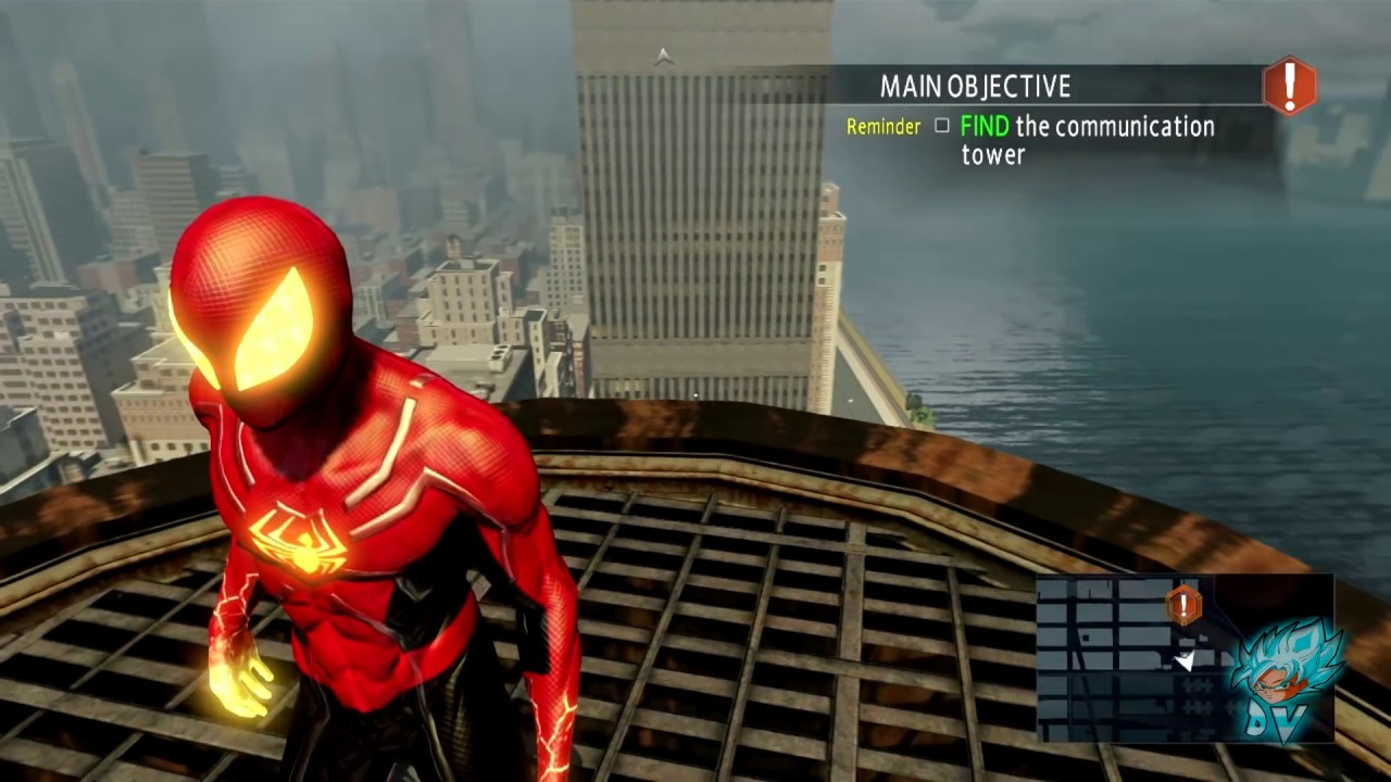 Spiderman Phoenix Suit MOD Review - The Amazing Spider-man 2 (PC)