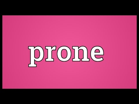 Prone Meaning