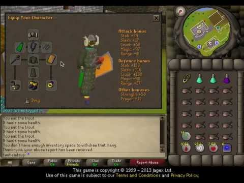 [2007] RuneScape Mining Guide: Mithril Ore - YouTube