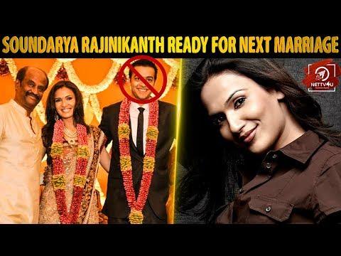 Soundarya Rajinikanth next marriage? Details here! Soundarya Rajinikanth | Vishagan
