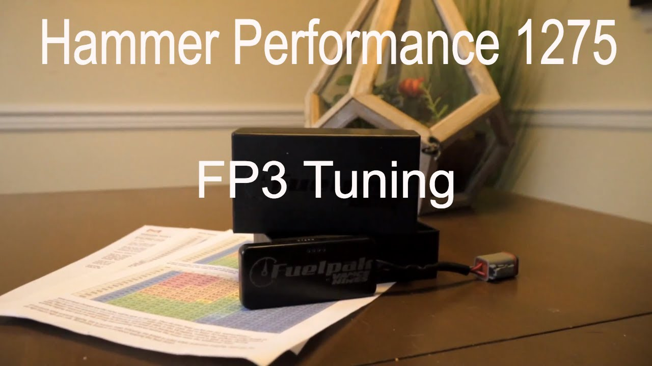 Tuning your Hammer Performance 1275 Kit with a FP3 Fuelpack
