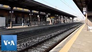 Trains Not Stopping In Codogno, Italy, Amid Coronavirus Fears