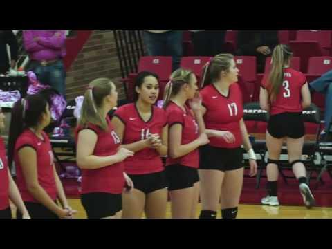 Casper College v. Northwest College (Volleyball)