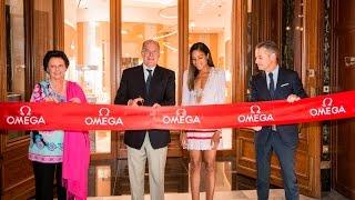 OMEGA opens in Monaco