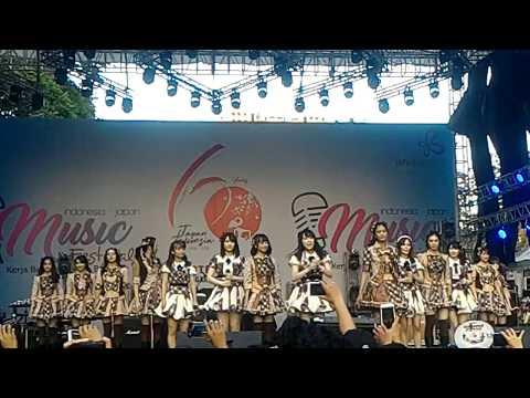 AKB48 & JKT48 - Kibouteki Refrain (Live Jak-Japan Matsuri 2018)
