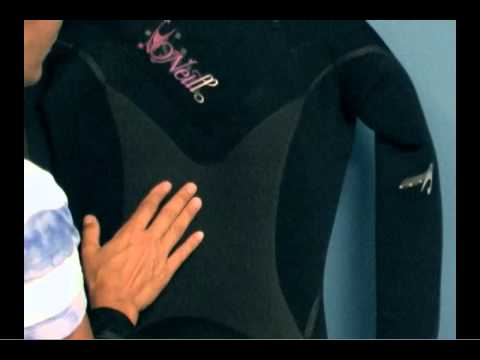 a56d751010 O Neill Delux Mod 5 4 3 Hooded Full Suit Wetsuit Women s with Removable Hood  PleasureSports.com