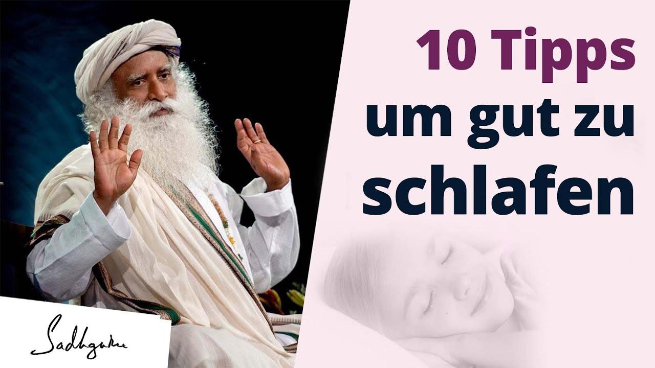 Sadhguru's 10 Tipps um gut zu schlafen & erholt aufzuwachen