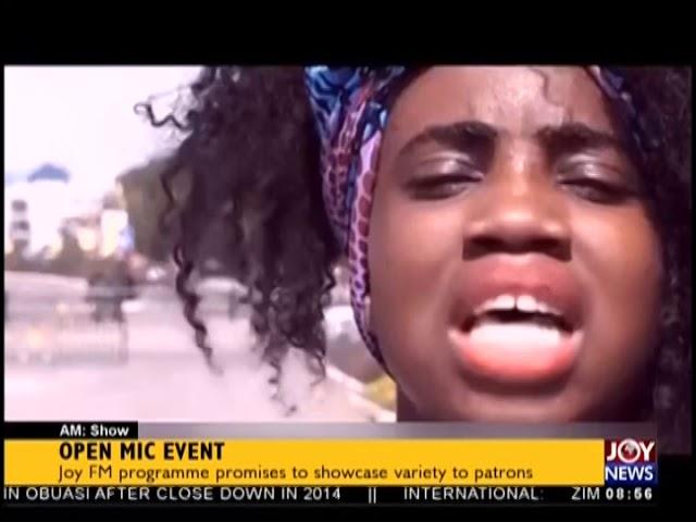 Open Mic Event - AM Showbiz on JoyNews (23-1-19)
