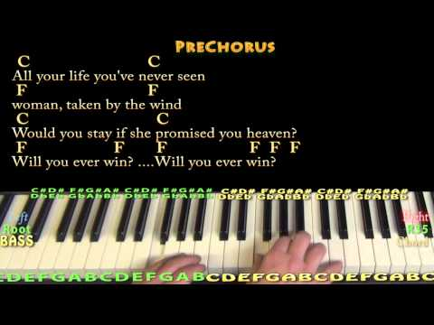 Piano 18 piano chords : Rhiannon (Fleetwood Mac) Piano Cover Lesson with Chords/Lyrics ...