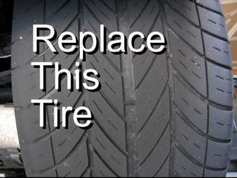Identify A Dangerous Tire 53 Seconds That Might Save A Life Youtube