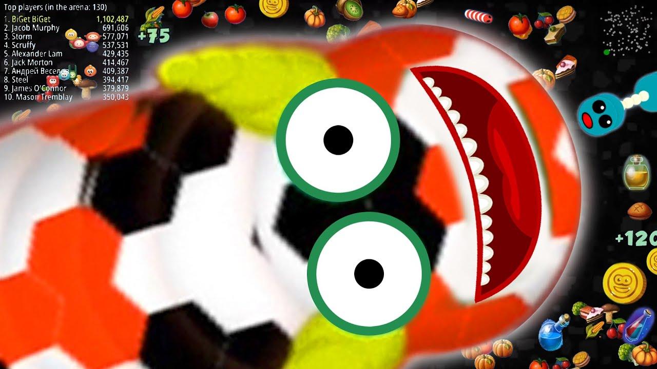 WormsZone.io Best Pro Slither Snake Top 01 / World Record Epic WormsZoneio Gameplay Moments #54