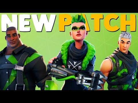 NEW GAME MODE PATCH NOTES   Fortnite Battle Royale