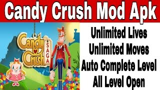 How to download candy crush unlimited lives and moves(Hindi)