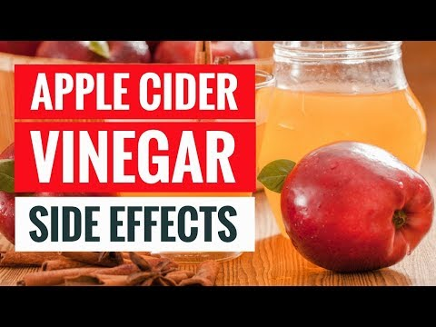 5 Side Effects Of Too Much Apple Cider Vinegar