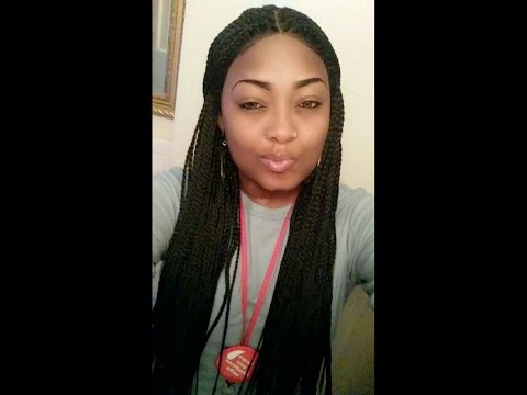 Sensationnel Senegal Box Braids Lace Wig