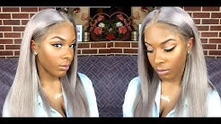 How I Got My Silver Hair Color | 5 Day Update On ChocHair 613 Blonde Virgin Hair Weave