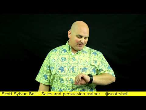 How to keep your cool with tough buyers - Decide to stick in the sale (4 of 7) Scott Sylvan Bell