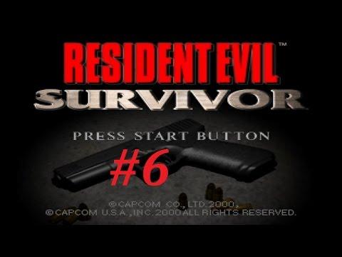 Resident Evil Survivor Walkthrough (6) Umbrella HQ Pt. 2