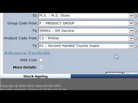 Inventory Stock Report - Stock Ageing - YouTube