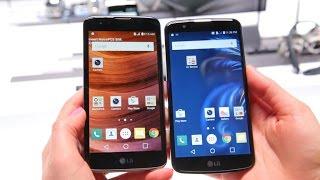 Los teléfonos K7 y K10 de LG tienen diseño lujoso y precio asequible