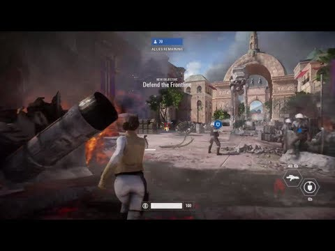 Defend The Palace! | Star Wars Battlefront II Campaign #5