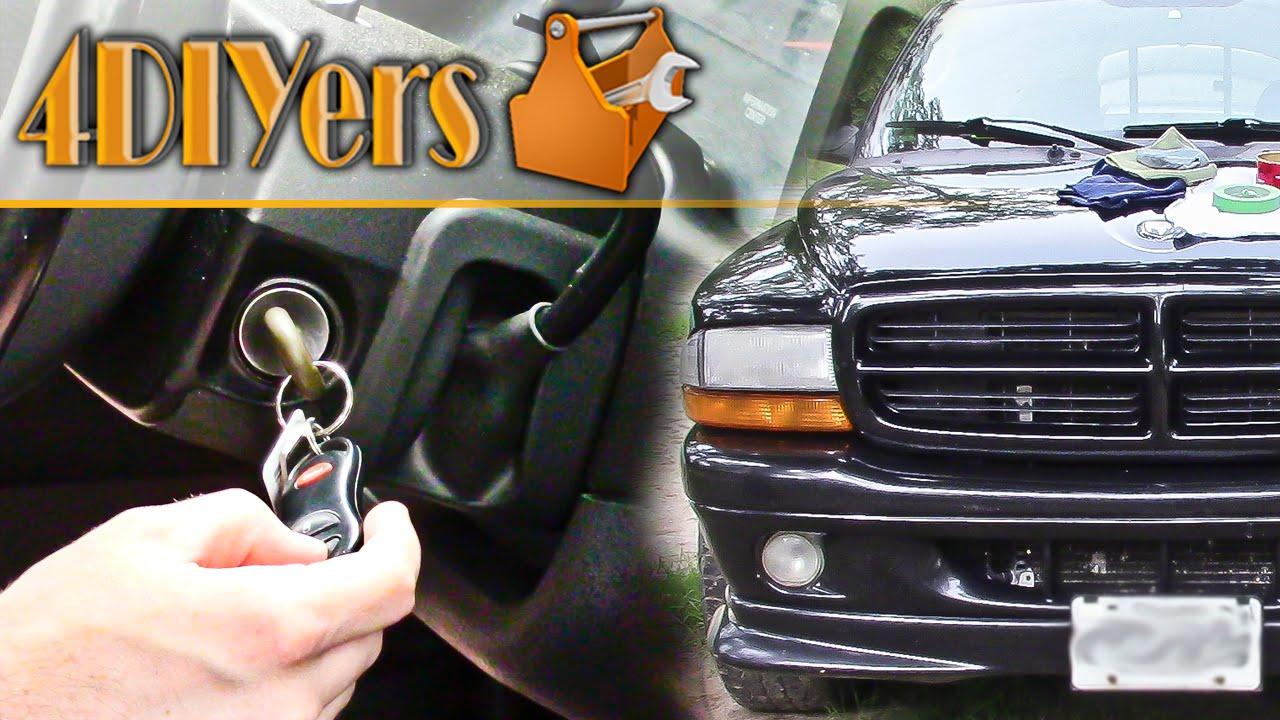 Diy Dodge Keyless Entry Horn Chirp Enable Disable Youtube 2002 Caravan Se Fuse Box