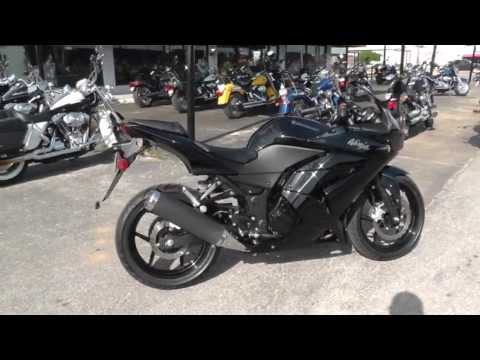 2011 kawasaki ninja ex250 - used motorcycle for sale - youtube