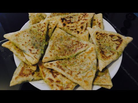 Download Youtube: Bolani Recipe - Ramadan Special Recipe - Iftar Recipe - Afghani Snack Recipe