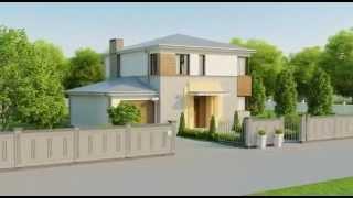 """видео проект дома от компании """"Красивый дом"""" kamen-dom.ru"""