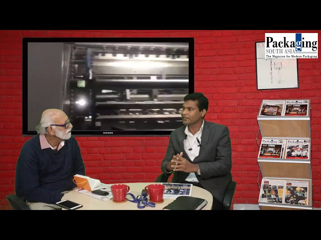 Packaging South Asia talks to Prem  P. Vishwakarma of Robus India on converting developments.
