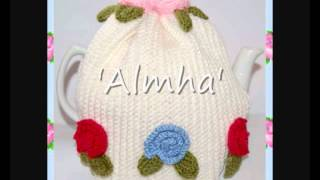 Almha Vintage Roses Style Tea Cosy Cozy Yarn Crochet Pattern