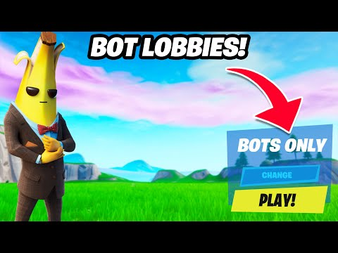 How To Get On BOT LOBBIES In Fortnite Chapter 2 Season 2! (BOT LOBBIES FORTNITE!)