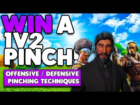 Use This Strategy To Win A 1V2 Pinch! | Offensive / Defensive Pinching | Fortnite Battle Royale