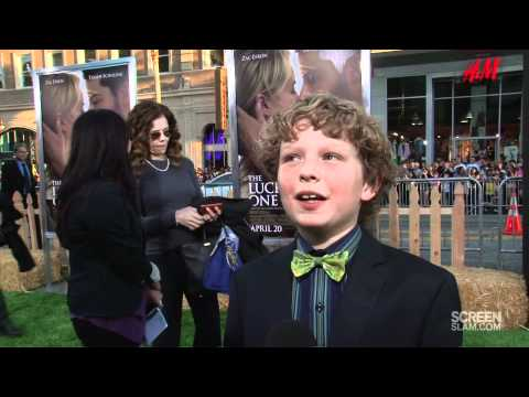 The Lucky One: Los Angeles Premiere Riley Thomas Stewart  HD