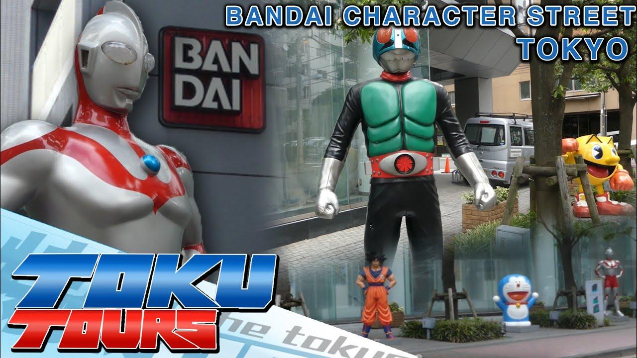 Toku Tours: Bandai Character Street in Tokyo