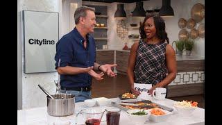Chef Ricardo shares a delicious vegetable poutine recipe