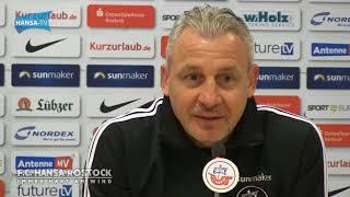 Pressekonferenz nach dem Heimspiel gegen den KSC