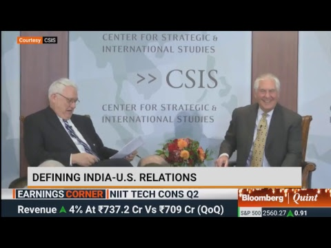 U.S. Secretary Of State Rex Tillerson On India