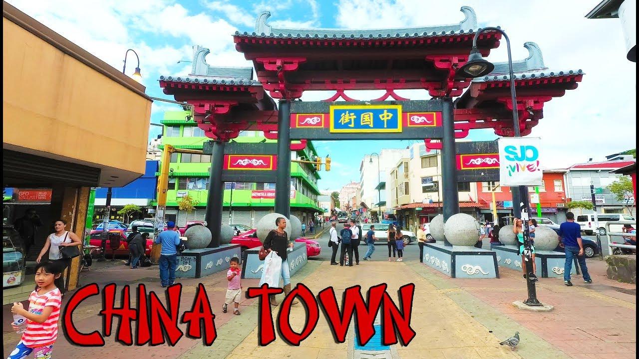 Costa Rica China Town Walk 2017 San Jose 4k