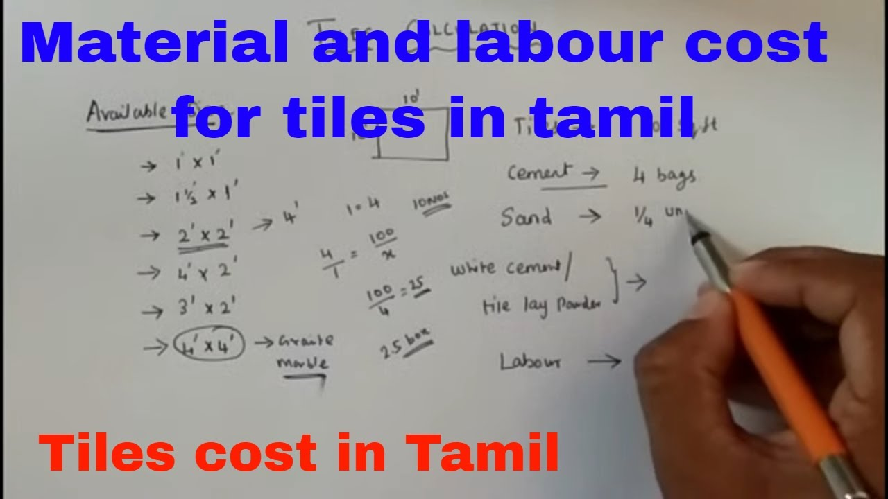 tiles cost for 100 sq ft how to calculate cost for tiles material and labour cost for tiles