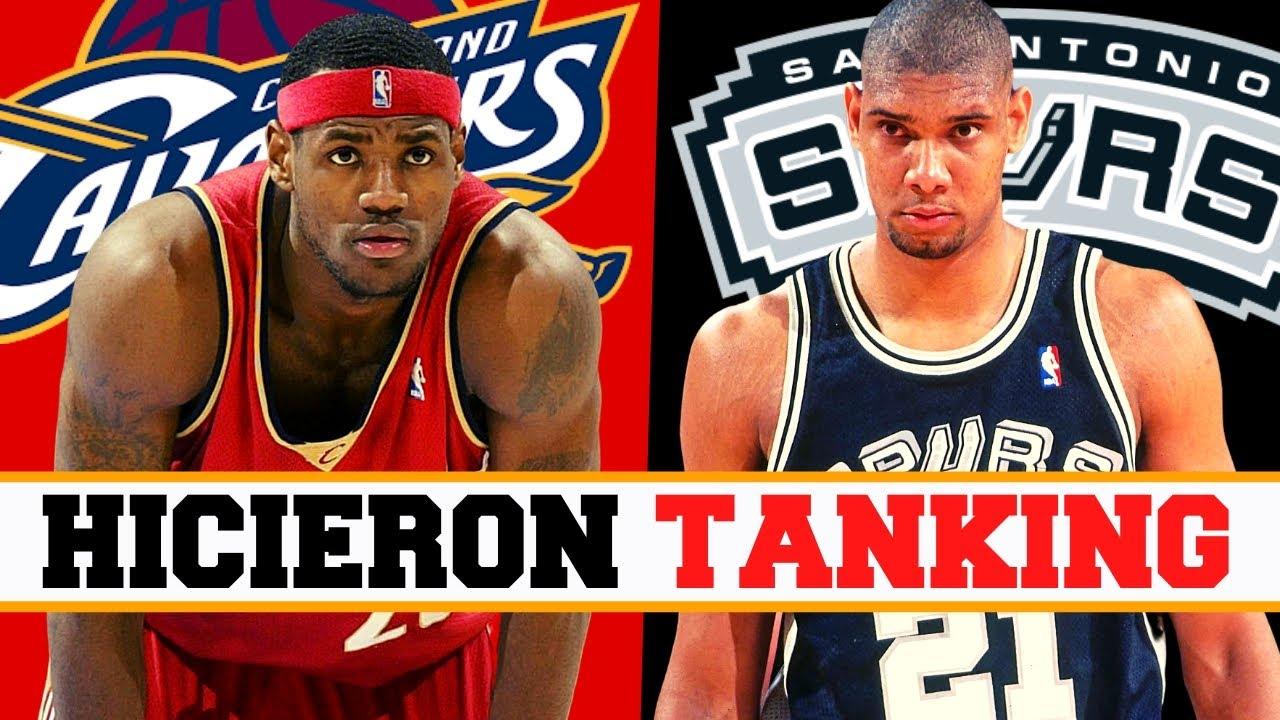 5 EQUIPOS FAMOSOS POR HACER TANKING EN LA NBA