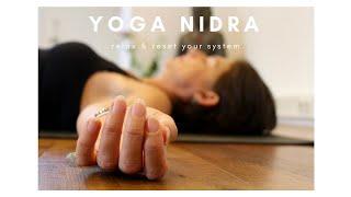 Yoga Nidra om stilte en ruimte te ervaren
