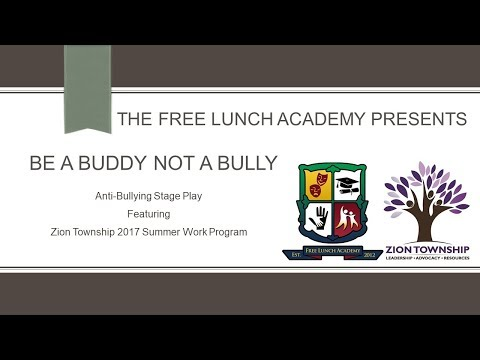 Free Lunch Academy   July 28,2017       Zion Township Summer Program