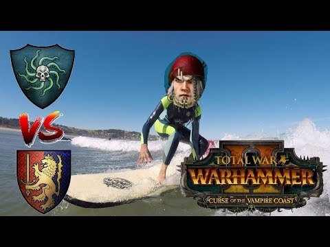 Vampire Coast vs Bretonnia | COASTING LIVE - Total War Warhammer 2