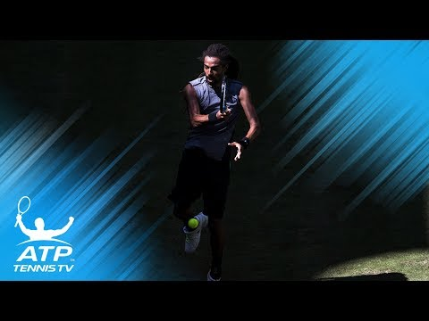 Dustin Brown superb diving volley | Gerry Weber Open Halle 2017 Day 1