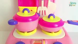 Velcro Toy Vegetables | Soup Cooking On Stovetop Utensils Pots Pans Learn Cooking Colors Shapes