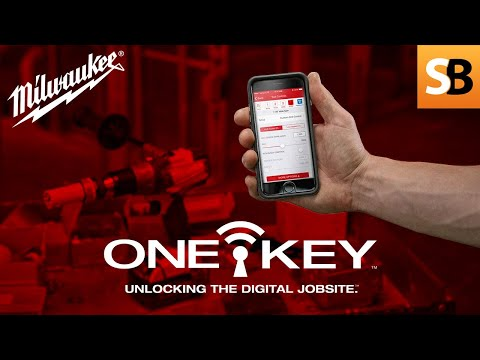 Track Your Tools with the Milwaukee ONE-KEY App